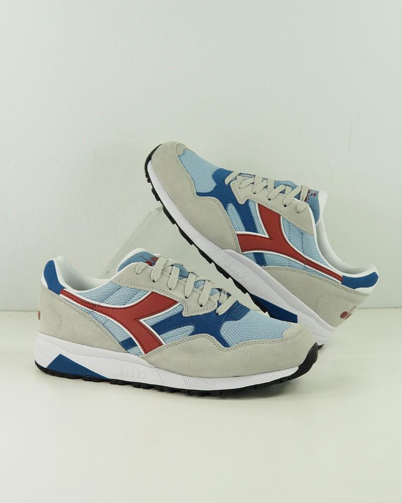 Diadora Scarpe Sneakers Uomo Grigio Azzurro N902 S 0