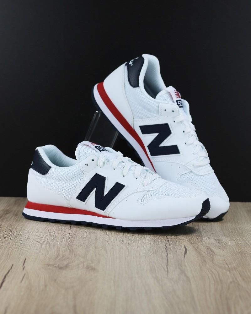 New Balance 500 Scarpe Sneakers Trainers Sportive Bianco Nubuck Mesh 0