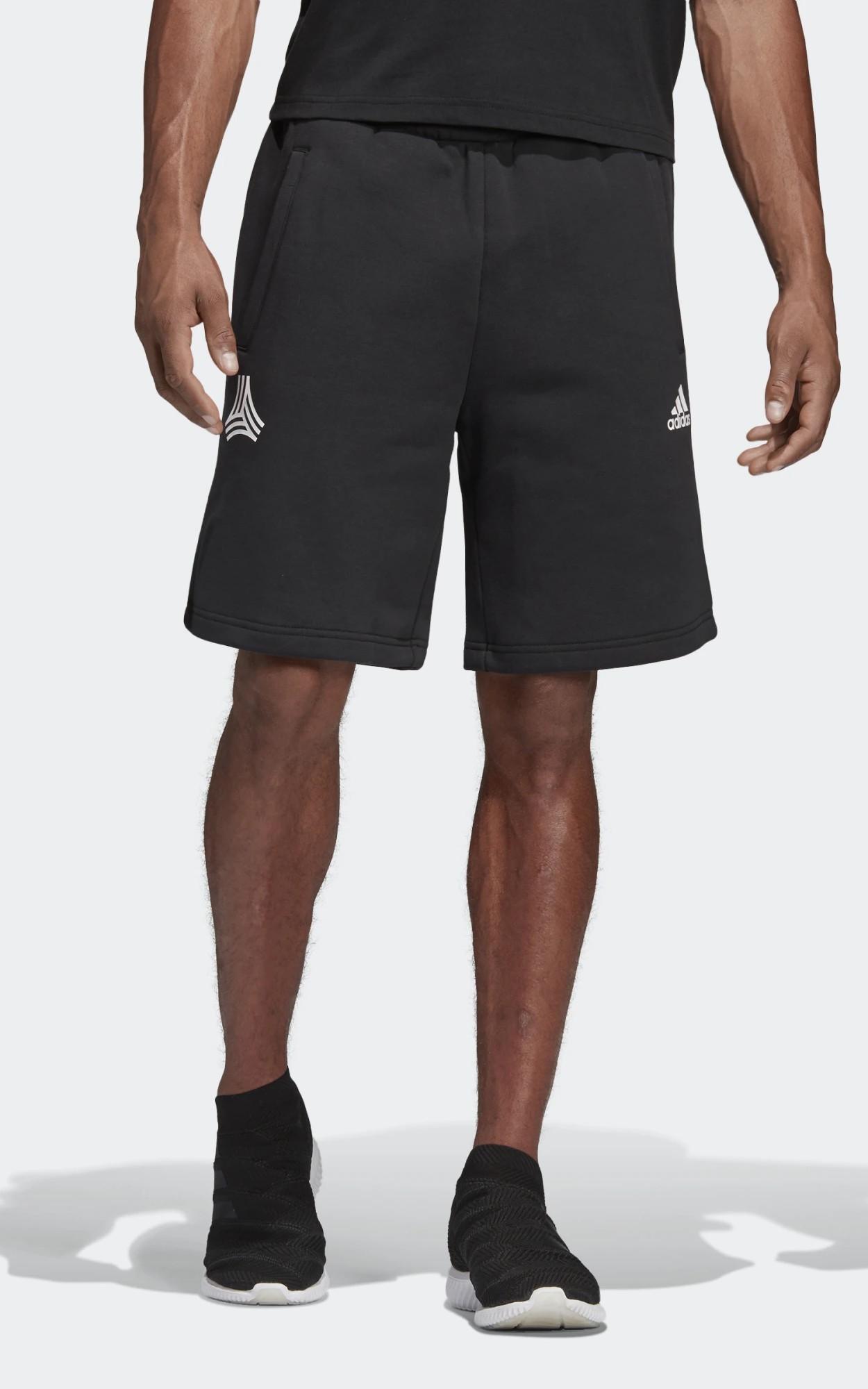 Adidas Pantaloncini Shorts Tango Graphic sweat Nero 2019 cotone con tasche