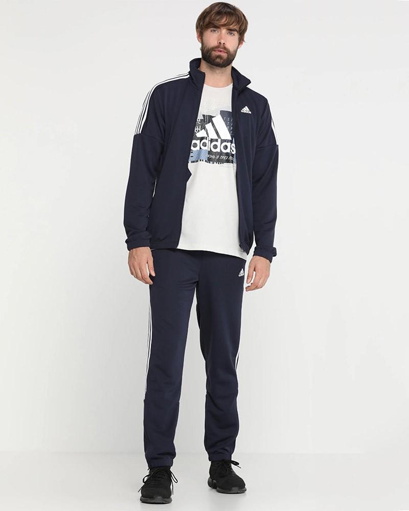 Adidas Tuta Allenamento tempo libero 2020 Athletics Team Sports Uomo Blu 0
