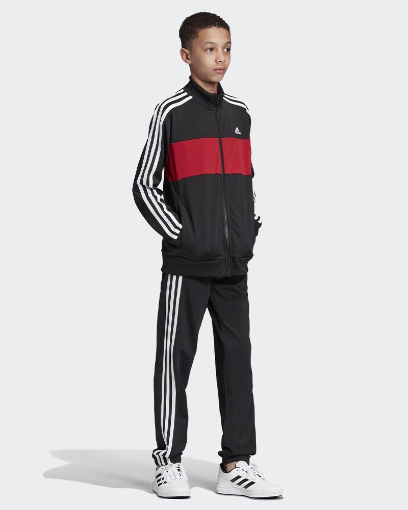 Adidas Yb Ts Tiberio Tuta Allenamento Training 2020 Bambino ragazzo Nero 0