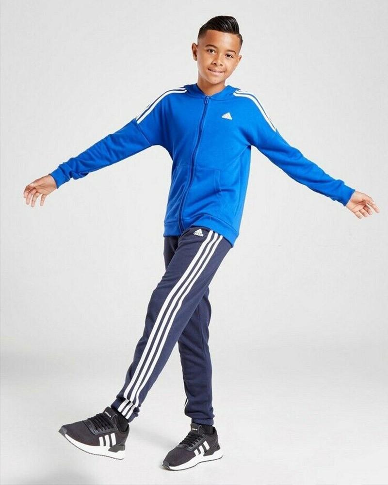 JB Cotton TS Tuta Allenamento Training 2020 Bambino ragazzo Blu Tempo Libero 0