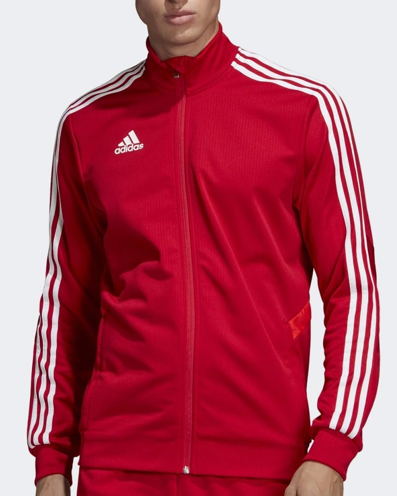 Adidas Giacca Tuta Allenamento Training Jacket Rosso Climalite Tiro 19 0