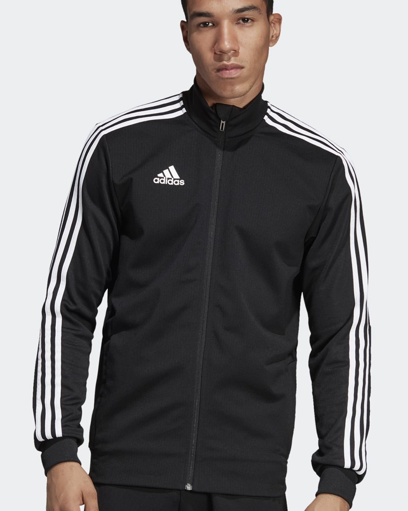 Adidas Giacca Tuta Allenamento Training Jacket Nero Climalite Tiro 19 0