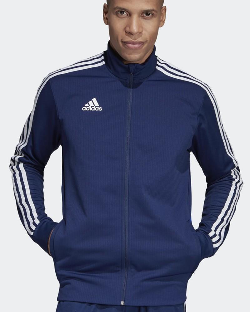 Adidas Giacca Tuta Allenamento Training Jacket apertura Full zip Blu Tiro 19 0