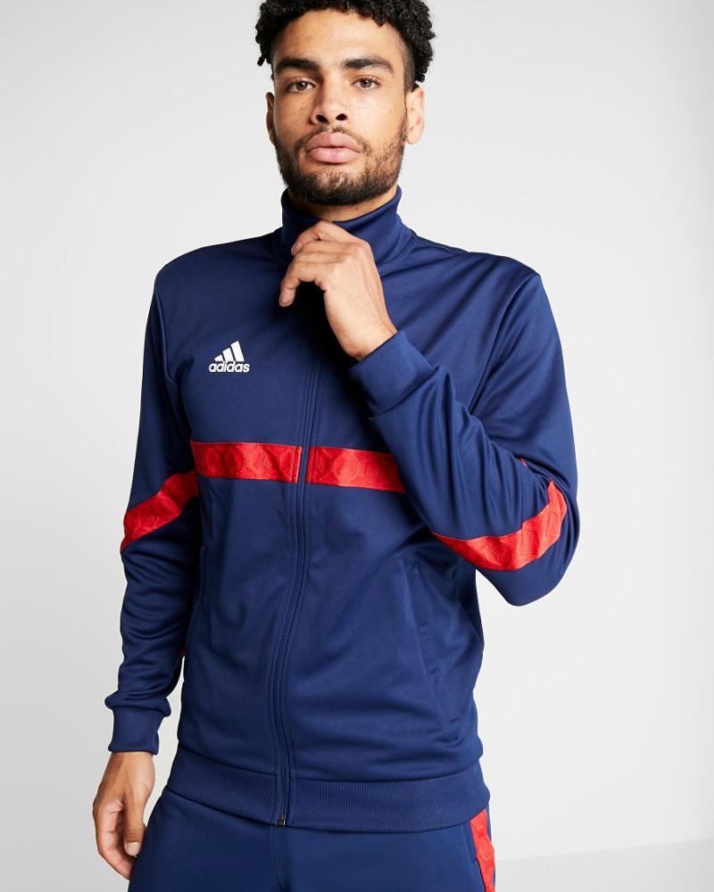 Adidas Giacca Tuta sportiva Jacket Tango Tape Club House Blu 2020 0