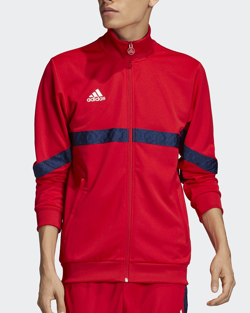 Adidas Giacca Tuta Sportiva Jacket Tango Tape Club House Uomo Rosso 2020 0