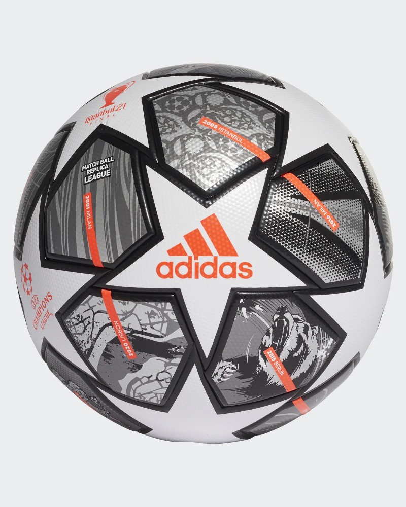 Adidas Pallone Calcio Uefa Champions League Istanbul 2021 Bianco 0