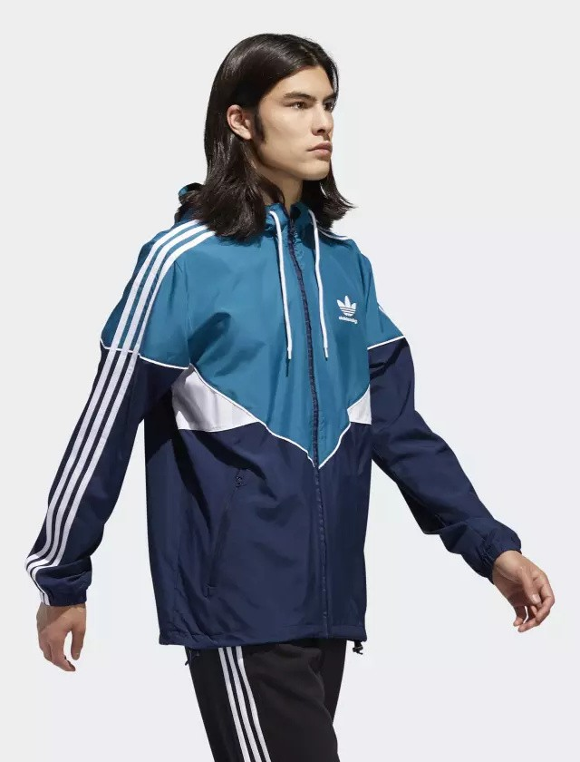 Adidas Originals Trefoil Giacca Sportiva PREMIERE JACKET Blu 2018 Uomo 0