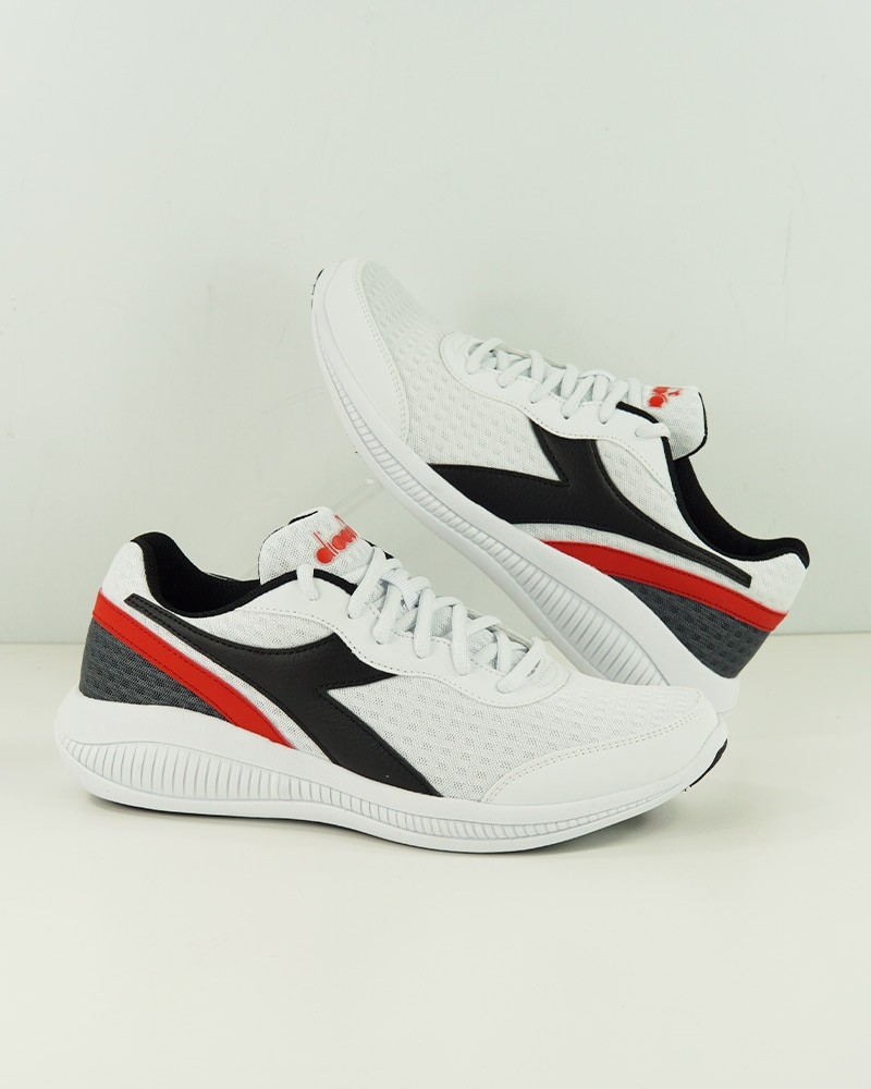 Diadora Scarpe da Corsa Running Sneakers Trainers Bianco Eagle 4 Uomo 0