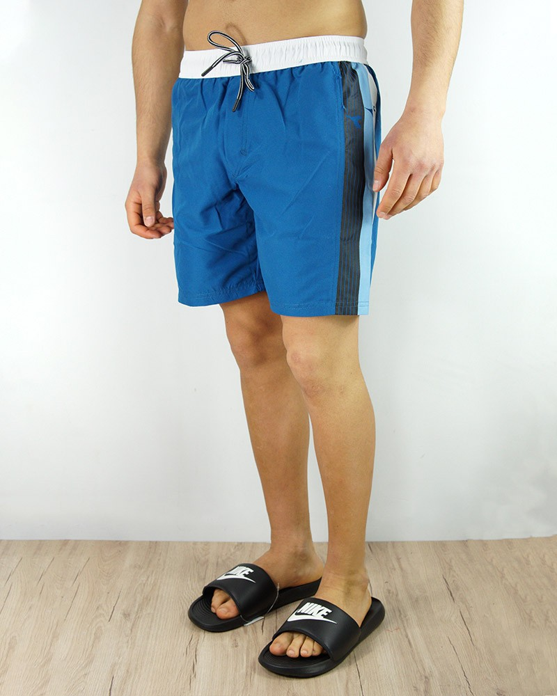 Diadora Costume da Bagno BEACH SHORT ZONE pantaloncini Azzurro Bianco 0