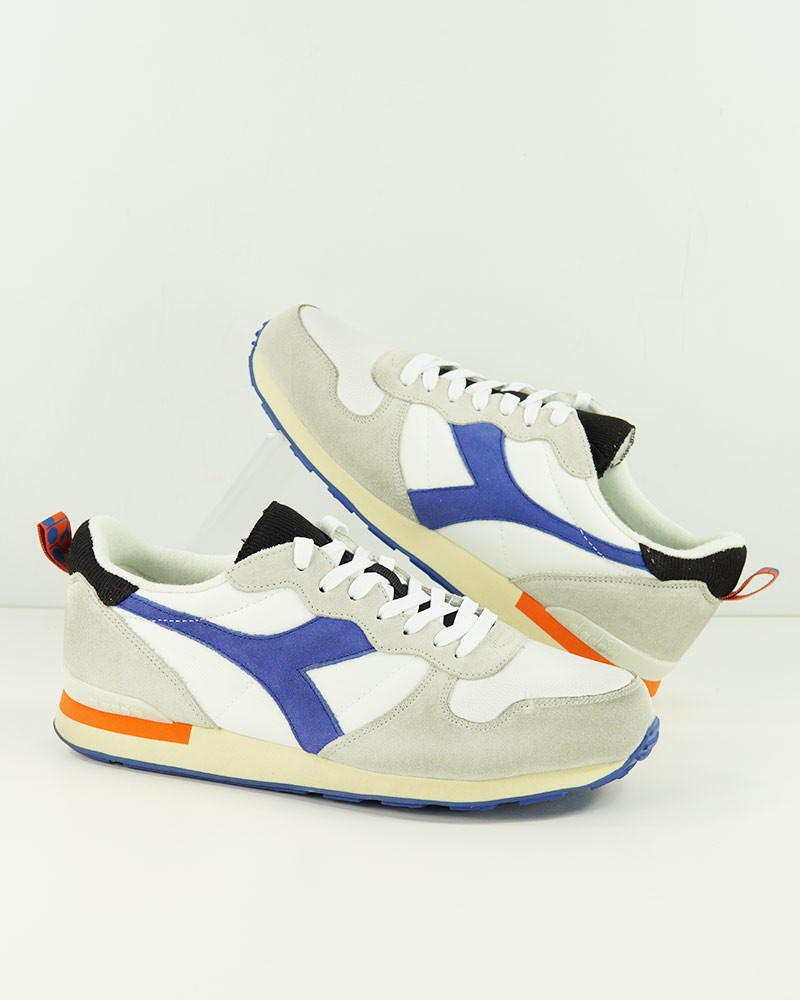 Diadora Scarpe Sneakers Bianco blue CAMARO ICONA 2021 Uomo 0