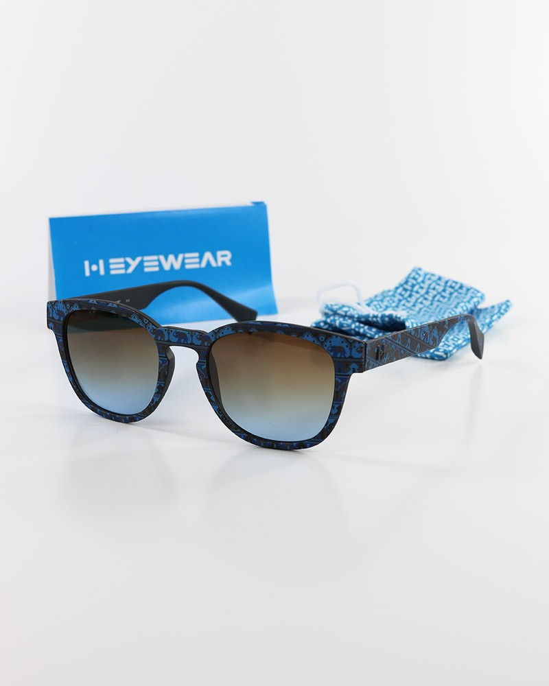 Italia Independent Eyewear Occhiali Da Sole Unisex 51-20-145mm Blu Filtro UV