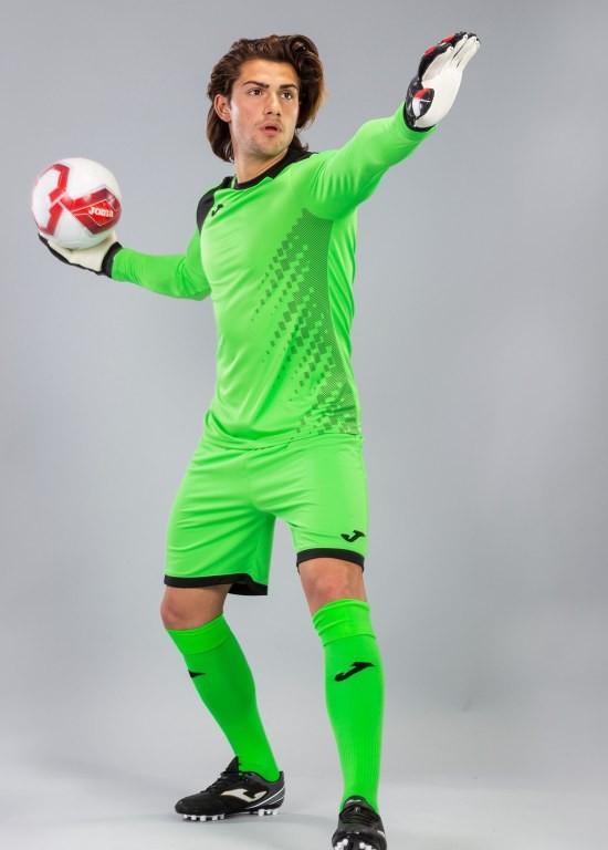 Joma ZAMORA IV Completo Calcio kit set maglia, shorts, calzettoni Uomo -Verde - 0210