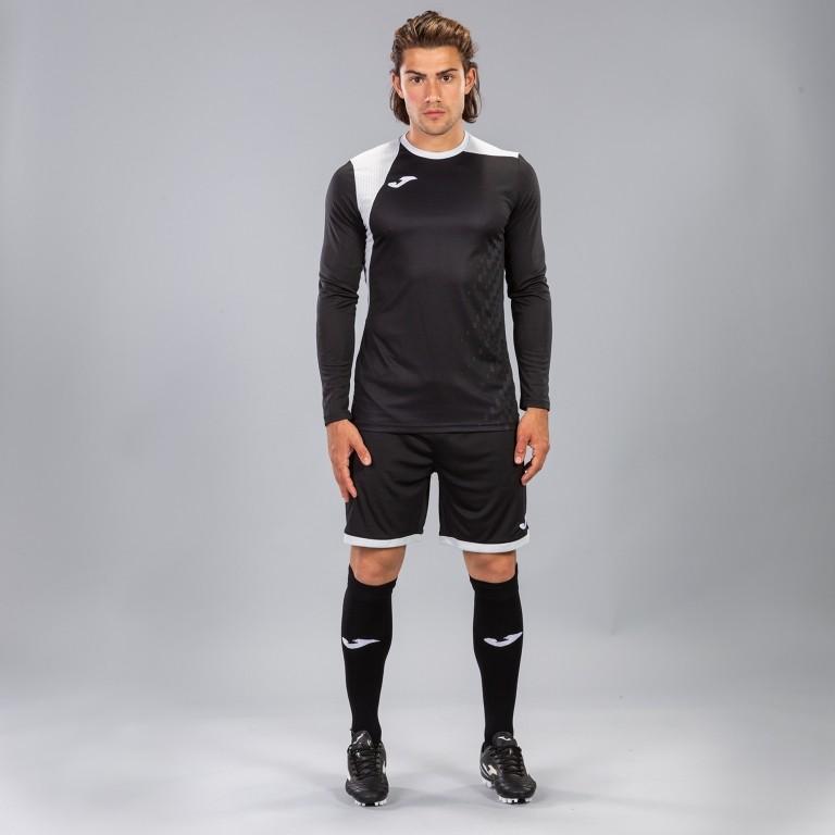 Joma ZAMORA IV Completo Calcio kit set maglia, shorts, calzettoni Uomo -Nero - 1110