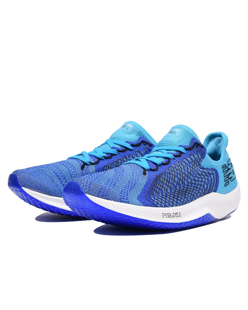 New Balance Scarpe Corsa Running Shoes Sneakers Blu Fuel Cell Rebel M 0