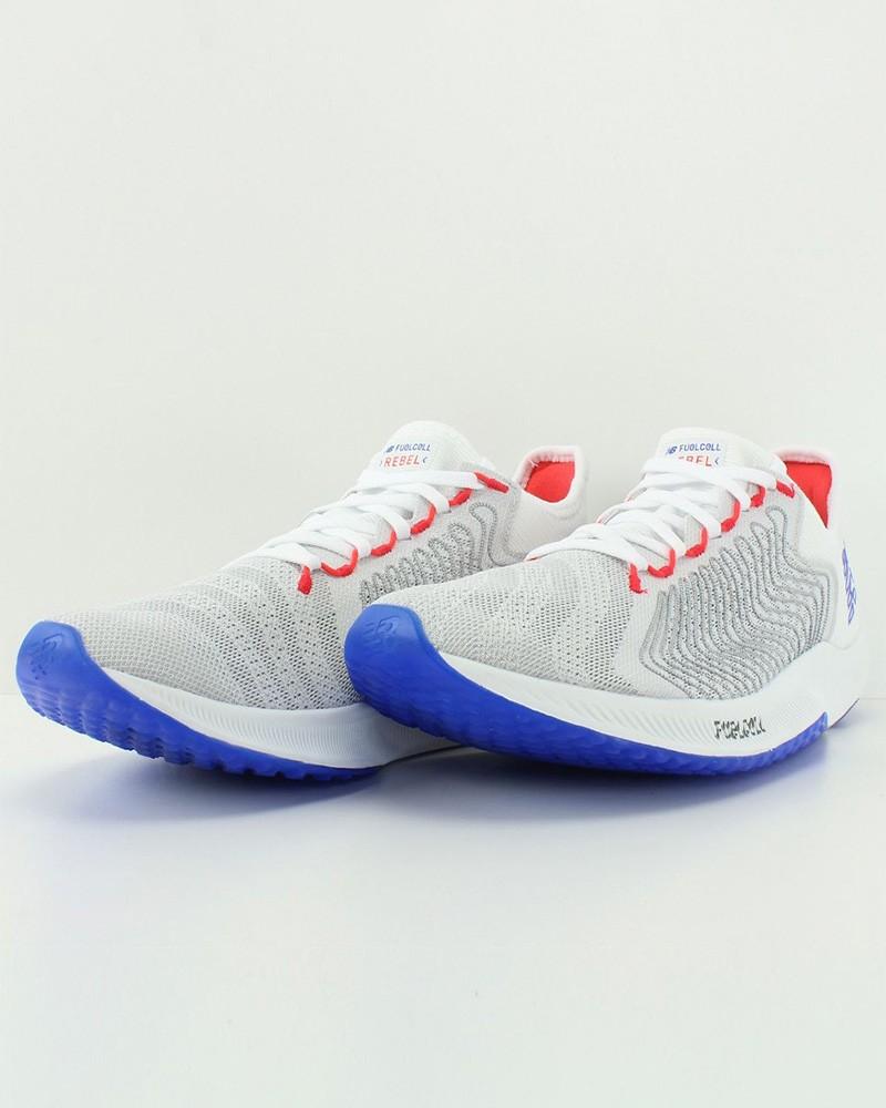 New Balance Scarpe da Corsa Running Sneakers Trainers Bianco Fuel Cell Rebel M 0