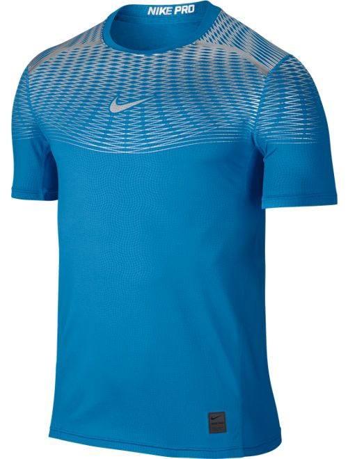 Nike Pro Hypercool Max Fitted Intimo Tecnico maniche corte Maglia Termica Uomo -Azzurro - 4150