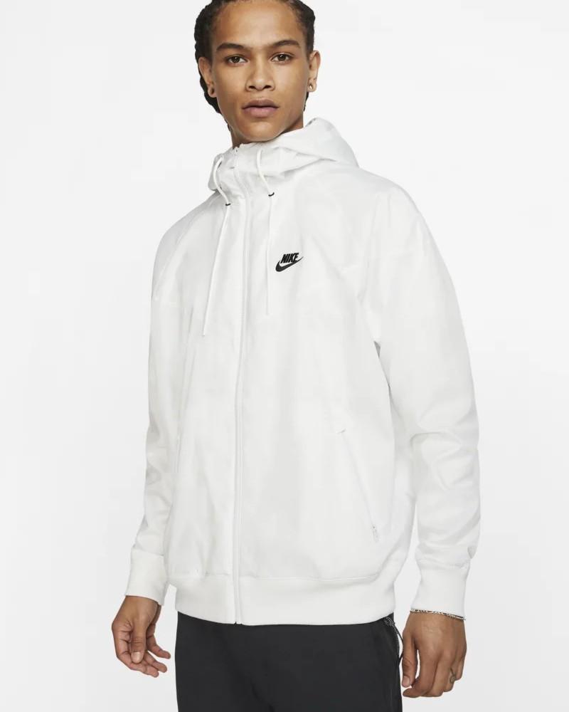 Nike Giacca Sportiva Windrunner Bianco Sportswear