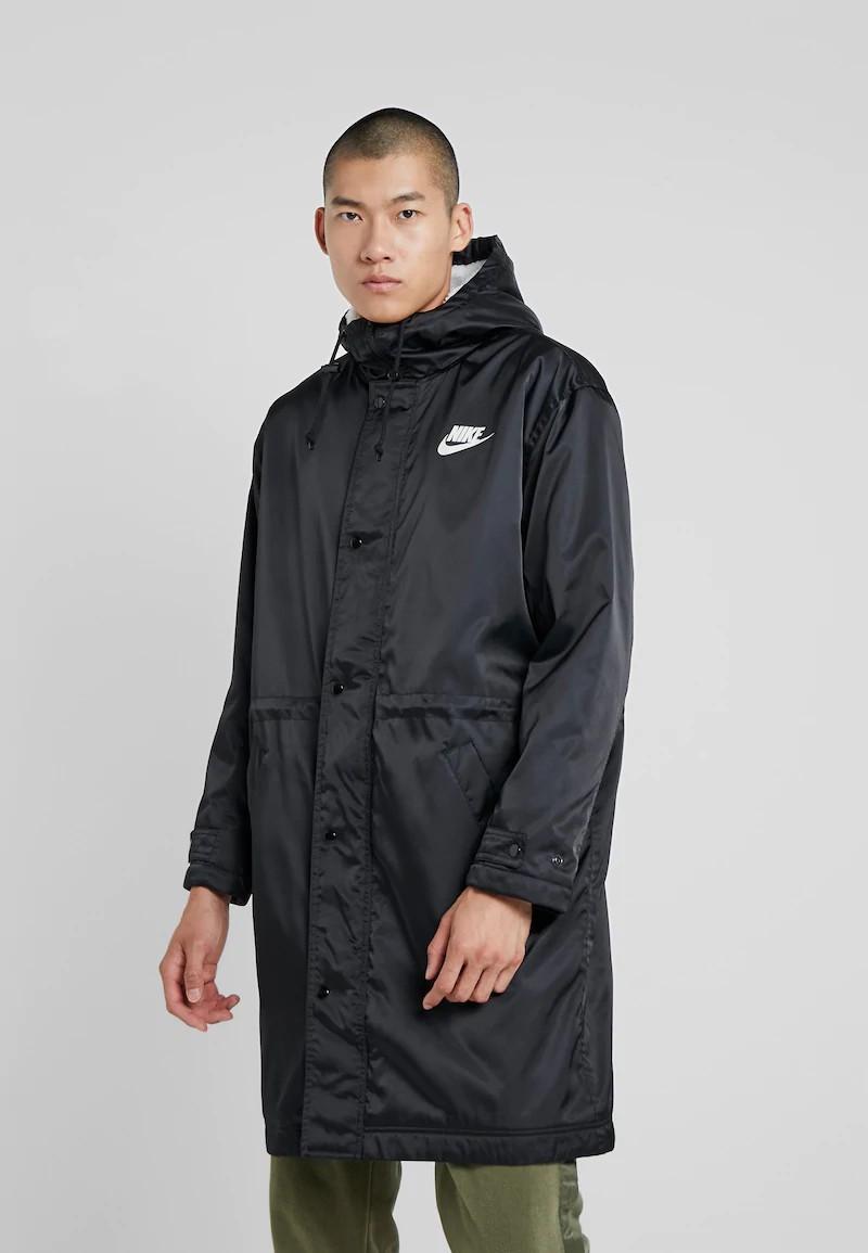 Nike Piumino Giubbino Nero parka Sportswear 100% poliestere imbottito Lifestyle 0