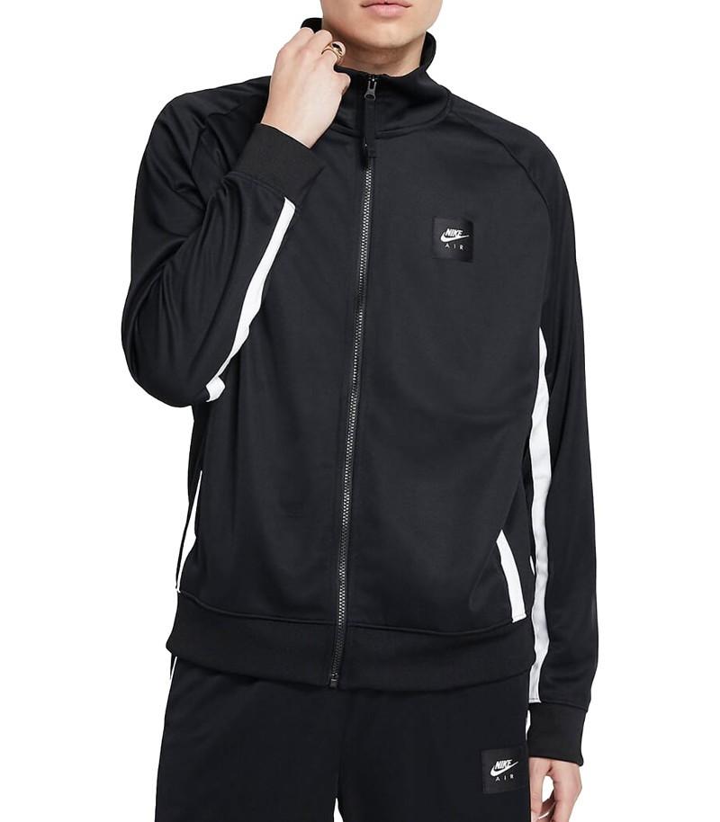 Nike AIR PK Poly Giacca Sportiva Nero con tasche a zip Sportswear 0