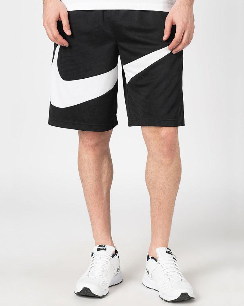 Nike Pantaloncini Shorts Sul Ginocchio Nero basket Nike Dri-FIT HBR con tasche 0