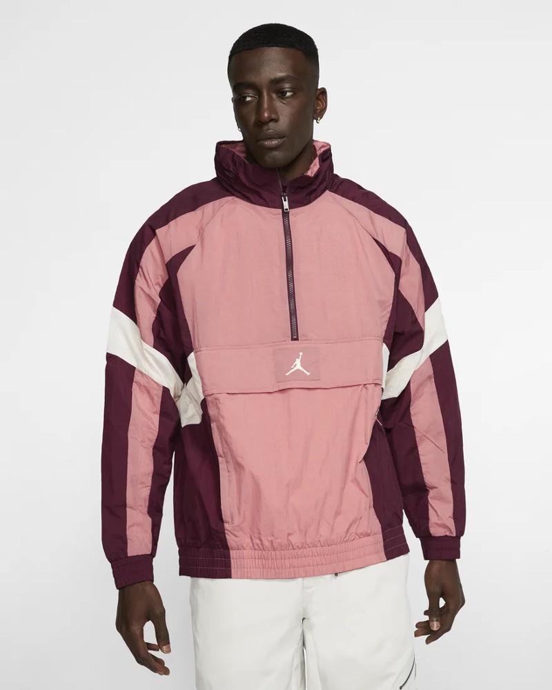 Nike Jordan Wings Windwear Giacca Sportiva Uomo Mezza zip Sportswear 0