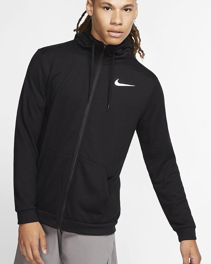 Nike Giacca Allenamento Training Uomo Nero Normale 2020 21 con tasche 0