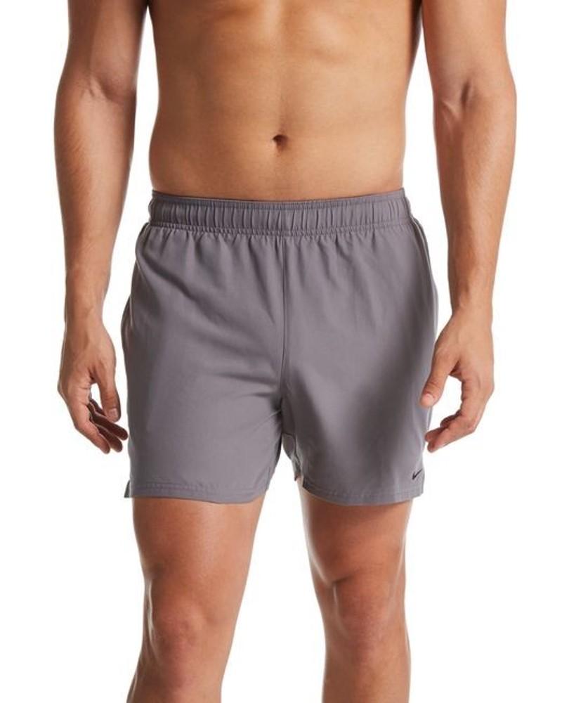 Nike Solid Volley 5 Costume da Bagno Pantaloncini shorts Grigio mare piscina 0