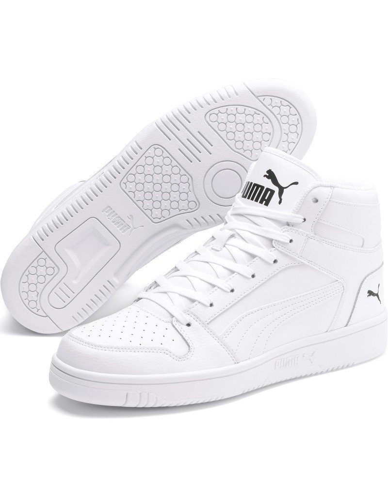 Puma Scarpe Sportive Sneakers Sportswear REBOUND Total Bianco Lifestyle 0