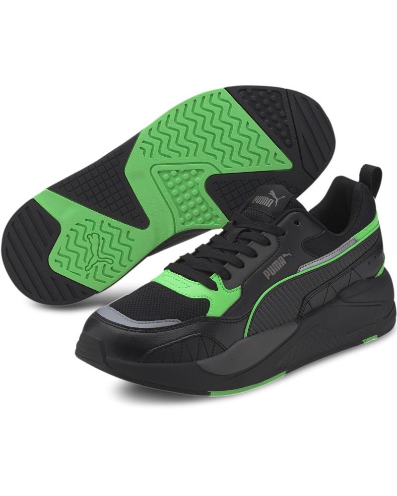 Puma Scarpe Sportive Sneakers X-Ray 2 Square Nero Verde Lifestyle Uomo 0