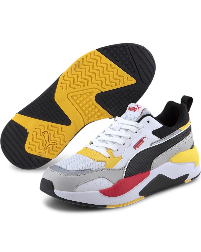 Puma Scarpe Sportive Sneakers Uomo Bianco 10 X-Ray 2 Square 0