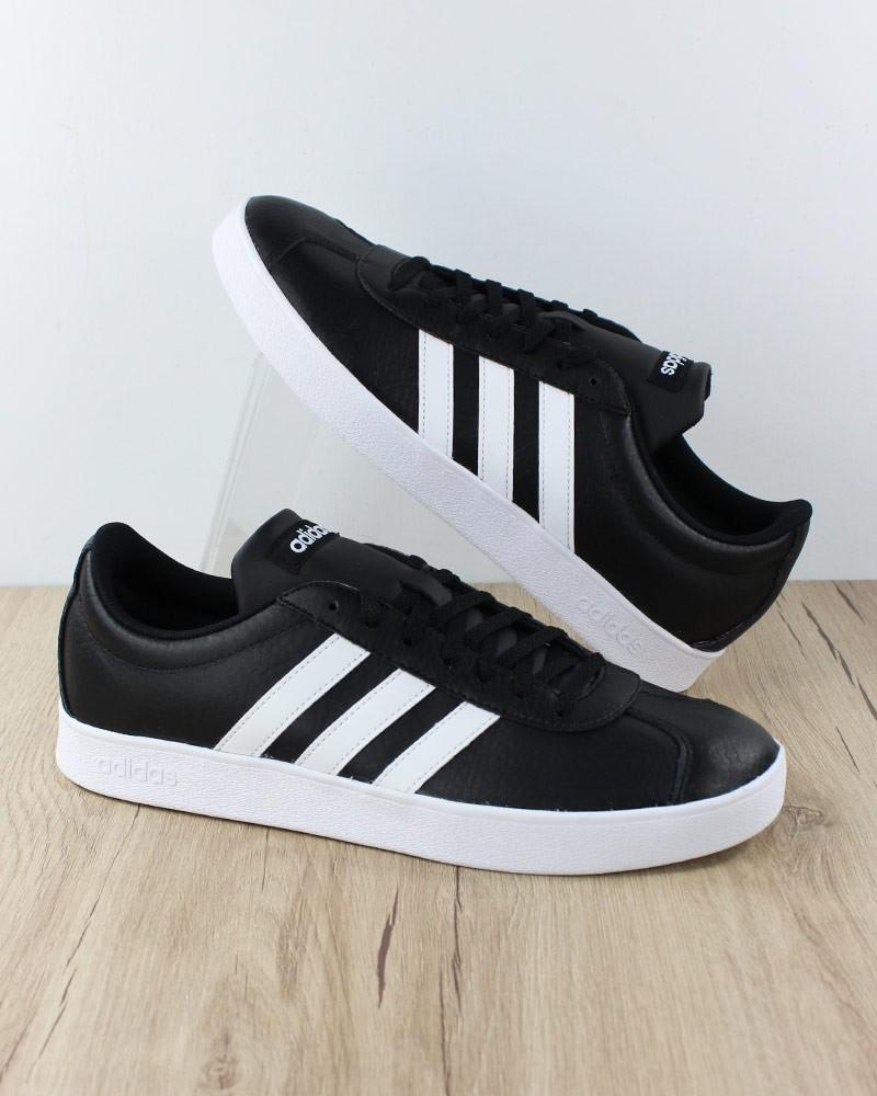 Adidas Scarpe Sportive Sneakers VL COURT 2.0 Uomo Nero