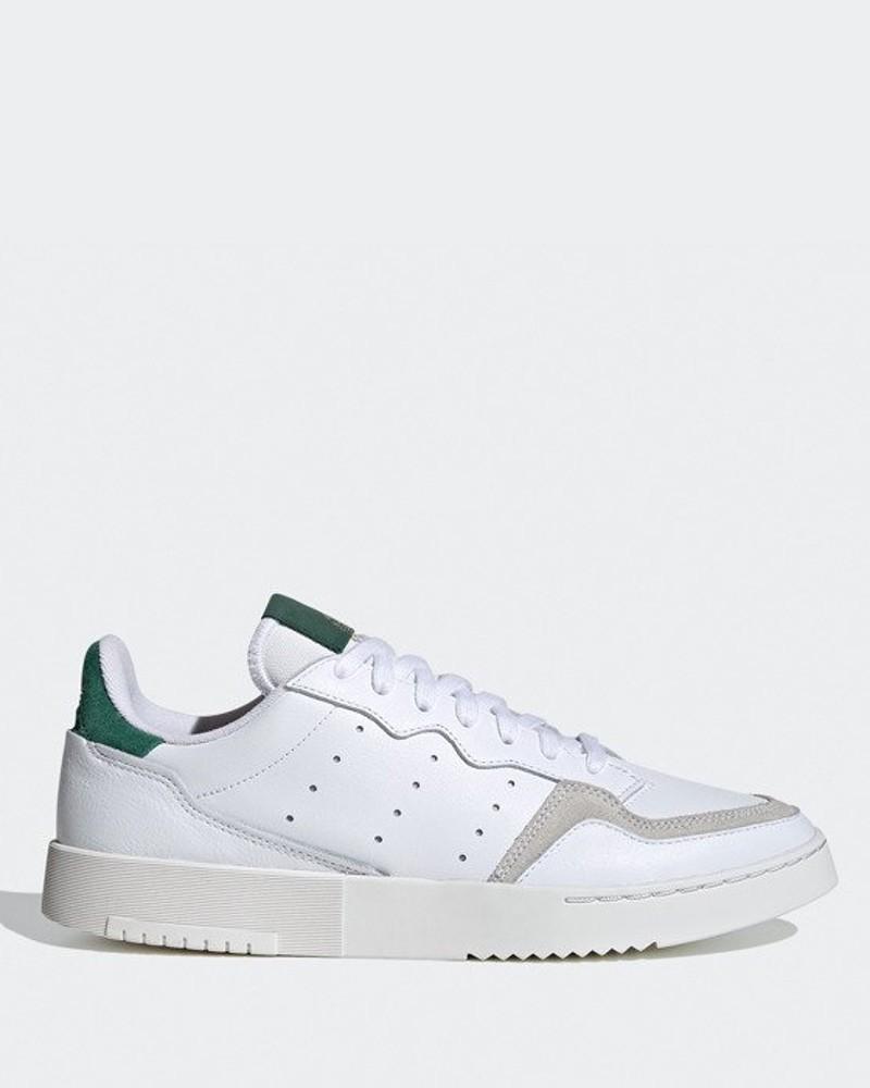 Adidas Originals Trefoil Scarpe Sneakers Supercourt Uomo Bianco Verde 0
