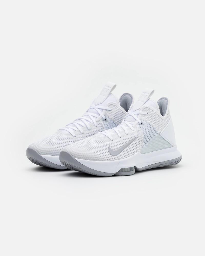 Nike Scarpe Sportive Sneakers basket Bianco LeBron Witness 4 Team Uomo 0