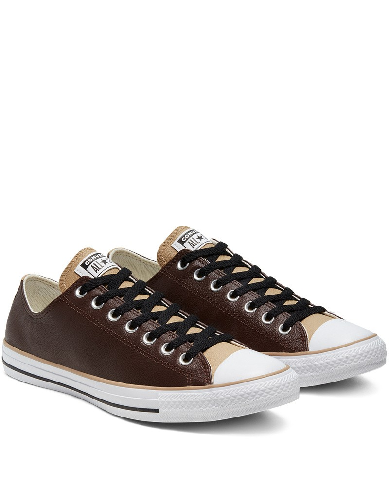 Converse All Star Scarpe Sportive Sneakers Chuck Taylor All Star Leather low 0
