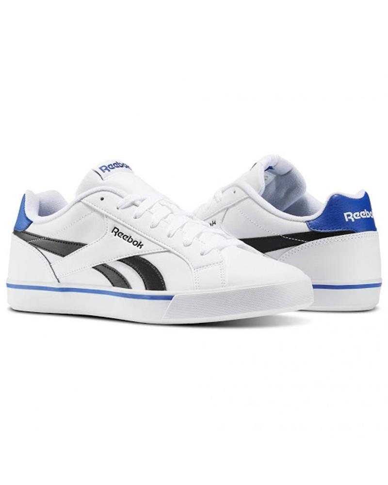 Reebok Scarpe Sportive Sneakers pelle Royal Complete 2LL Uomo Bianco 0