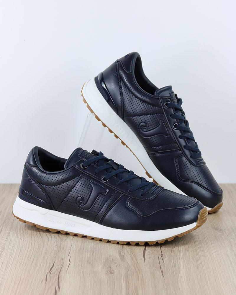 Joma Scarpe Sportive Sneakers C.220 MEN 2003 Uomo Blu Misto Suede Mesh 0