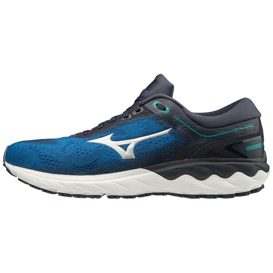 Mizuno Scarpe da Corsa Running Sneakers Trainers Wave Skyrise Blue Uomo 0