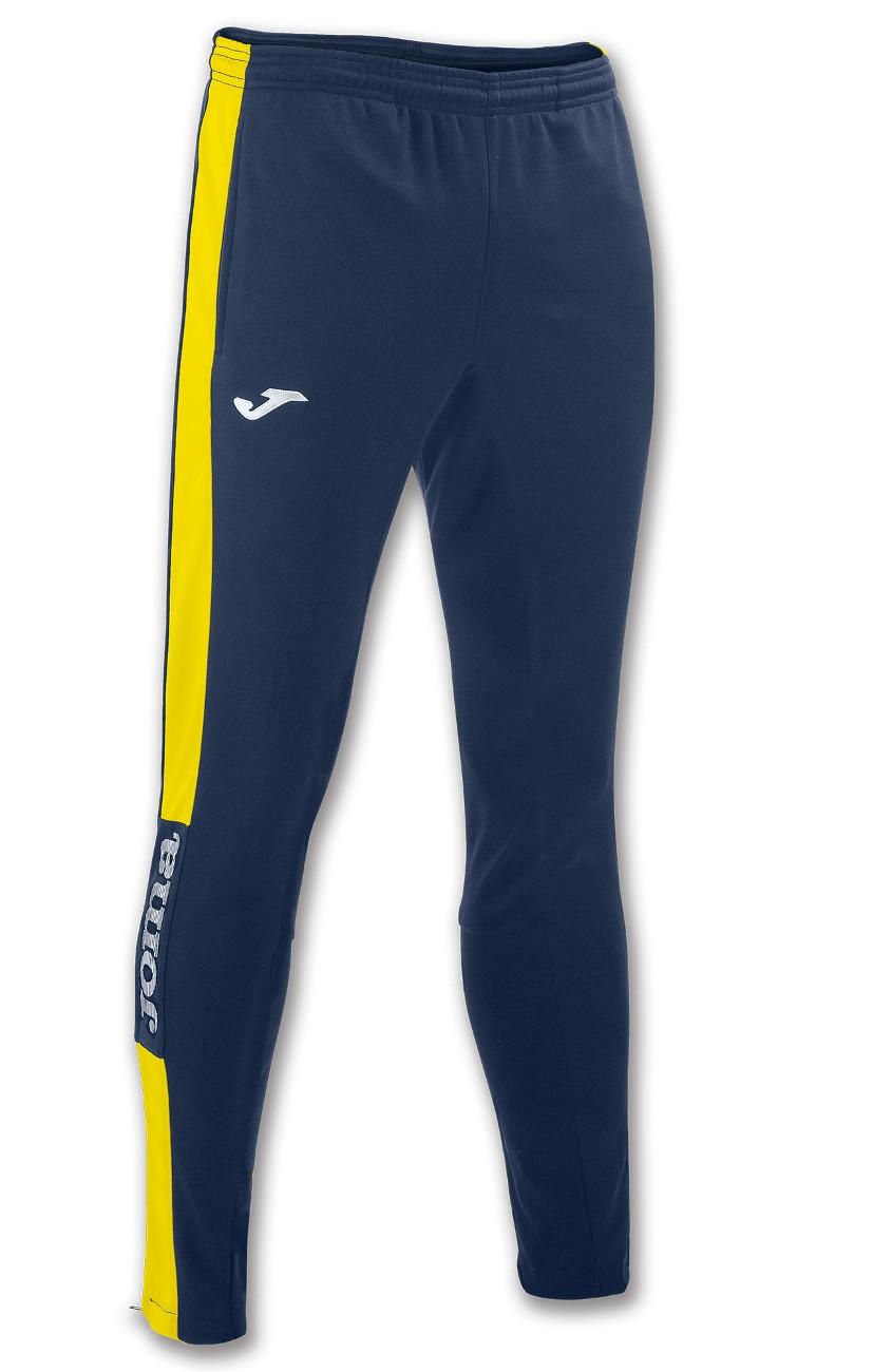 Joma Pantaloni tuta Pants Champion IV con tasche Uomo -Blu Giallo - 3090