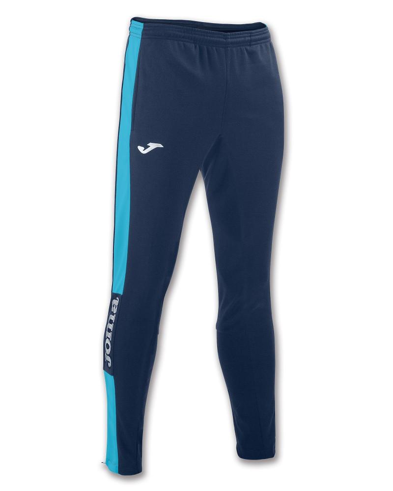 Joma Pantaloni tuta Pants Champion IV con tasche Uomo -Blue Azzurro - 3420