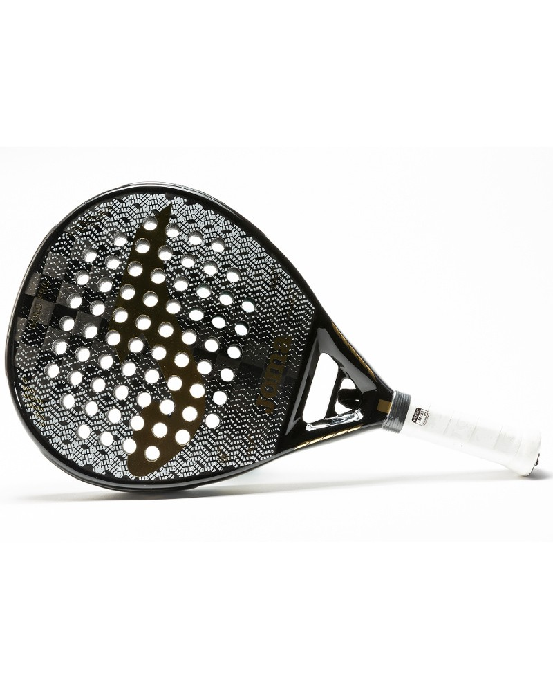 Joma Racchetta Padel Paddle PADEL GOLD PRO forma Diamante Fibra di Carbonio 18k -Giallo0