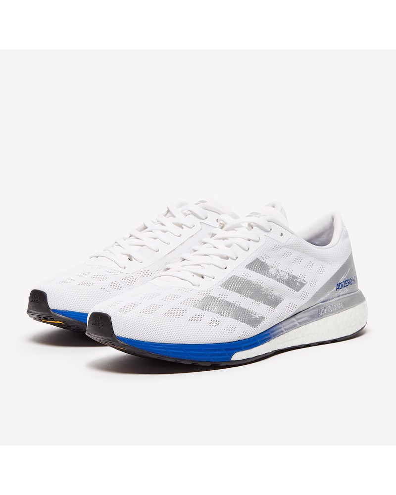 Scarpe da Corsa Running Sneakers UOMO Adidas Grigio Adizero Boston 9 Neutre 0