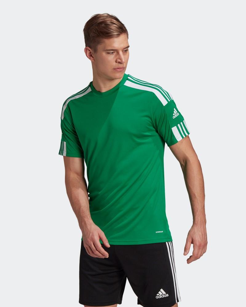 Maglia Allenamento Training UOMO Adidas Verde 2021 SQUADRA 21 JERSEY 0