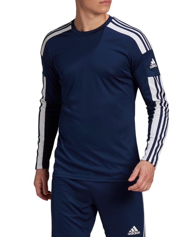 Maglia Allenamento UOMO Adidas maniche lunghe SQUADRA 21 JERSEY LS Blu 2021 0