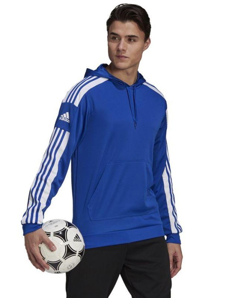 Felpa Cappuccio Hoodie UOMO Adidas Royale 2021 Squadra 21 con tasche 0