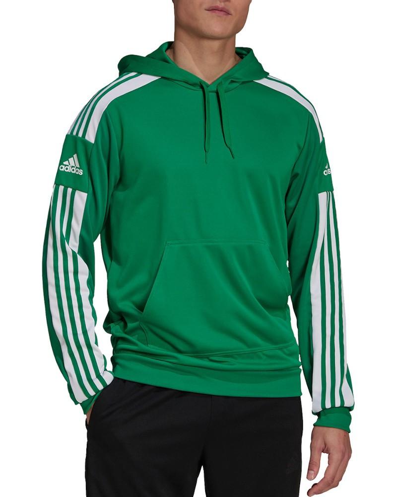 Felpa Cappuccio Hoodie UOMO Adidas Verde 2021 Squadra 21 Poliestere AEROREADY 0