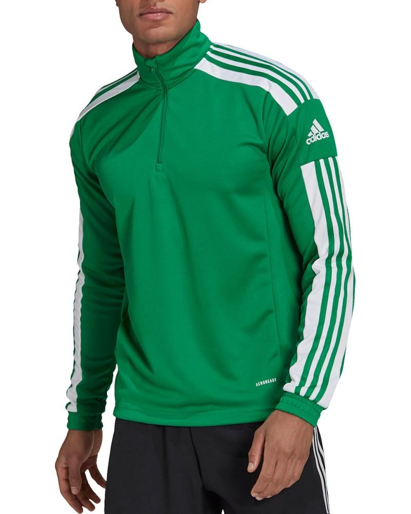 Felpa Allenamento Training Sweatshirt UOMO Adidas Verde 2021 AEROREADY 0