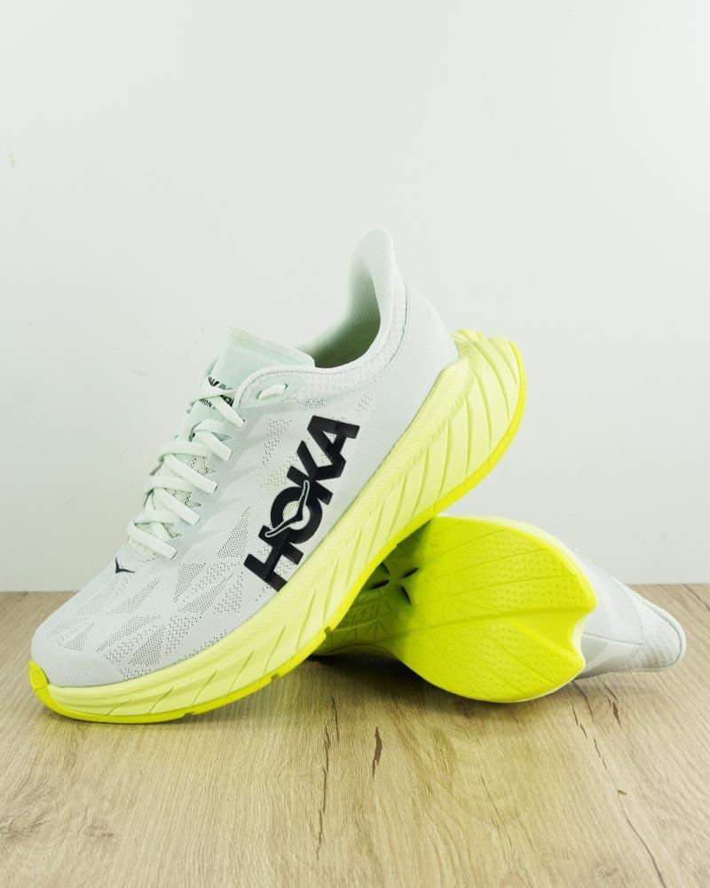 Scarpe Corsa Running Sneakers UOMO Hoka ONE ONE Grigio CARBON X Carbonio Veloce 0