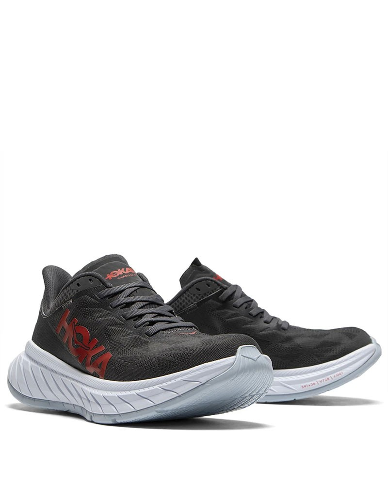 Scarpe Corsa Running Sneakers UOMO Hoka ONE ONE Grigio CARBON X Carbonio 0